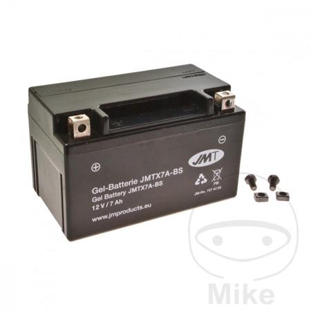 Akumulator JMT /żelowy/ YTX7A-BS  (WP7A-BS)