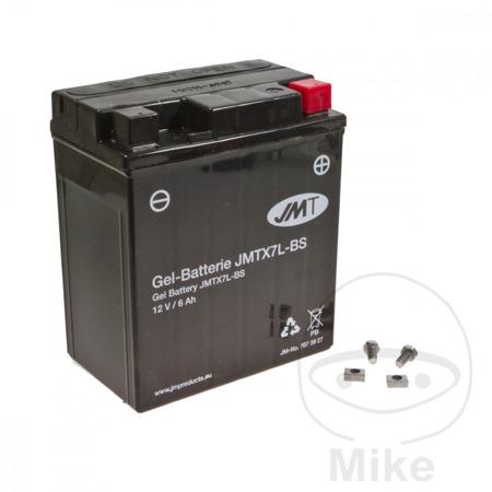 Akumulator JMT /żelowy/ YTX7L-BS  (WP7L-BS)