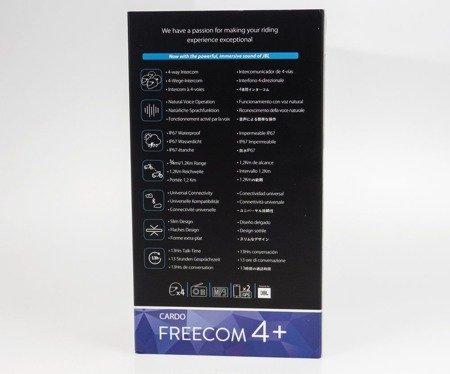 Interkom CARDO FREECOM 4+ 1 zestaw