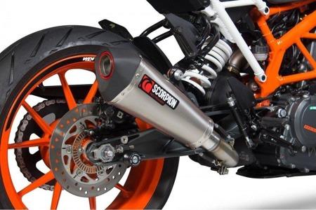 KTM Duke 390 17/18 Serket Taper Slip-on TYTAN RKT83TEO