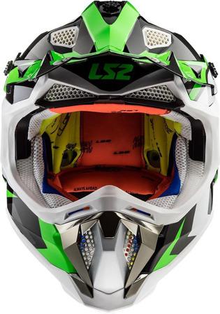 Kask crossowy LS2 MX470 SUBVERTER NIMBLE zielony