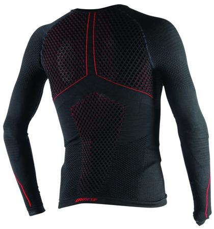 Koszulka termoaktywna DAINESE D-CORE THERMO TEE LS czarno-czerwona