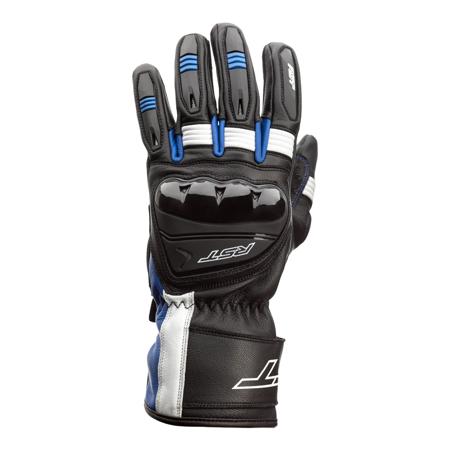 Rękawice skórzane RST PILOT black/blue/white (2404)