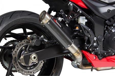 Suzuki GSX-S 750 17/18 RP1-GP Slip-on Carbon SI1010CEM
