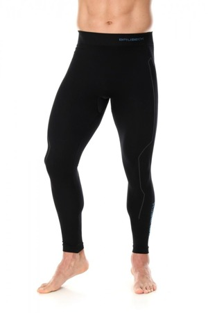 Termoaktywne spodnie męskie BRUBECK THERMO czarne
