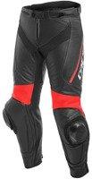 Spodnie skórzane DAINESE DELTA 3 czarno-czerwone